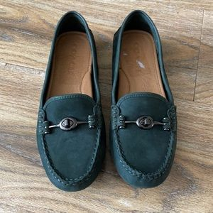 Coach Arlene Suede Driving Loafer
